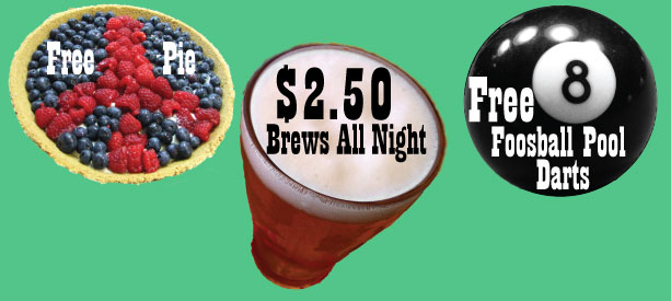 ChangeStream Media's pie party fundraiser is November 3 at Seattle Elks #92!
